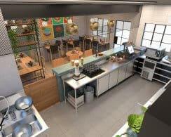 תכנון מטבחים וחדרי אוכל לעובדים