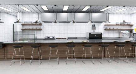 מסעדת אמא קרית ענבים הדמיית בר